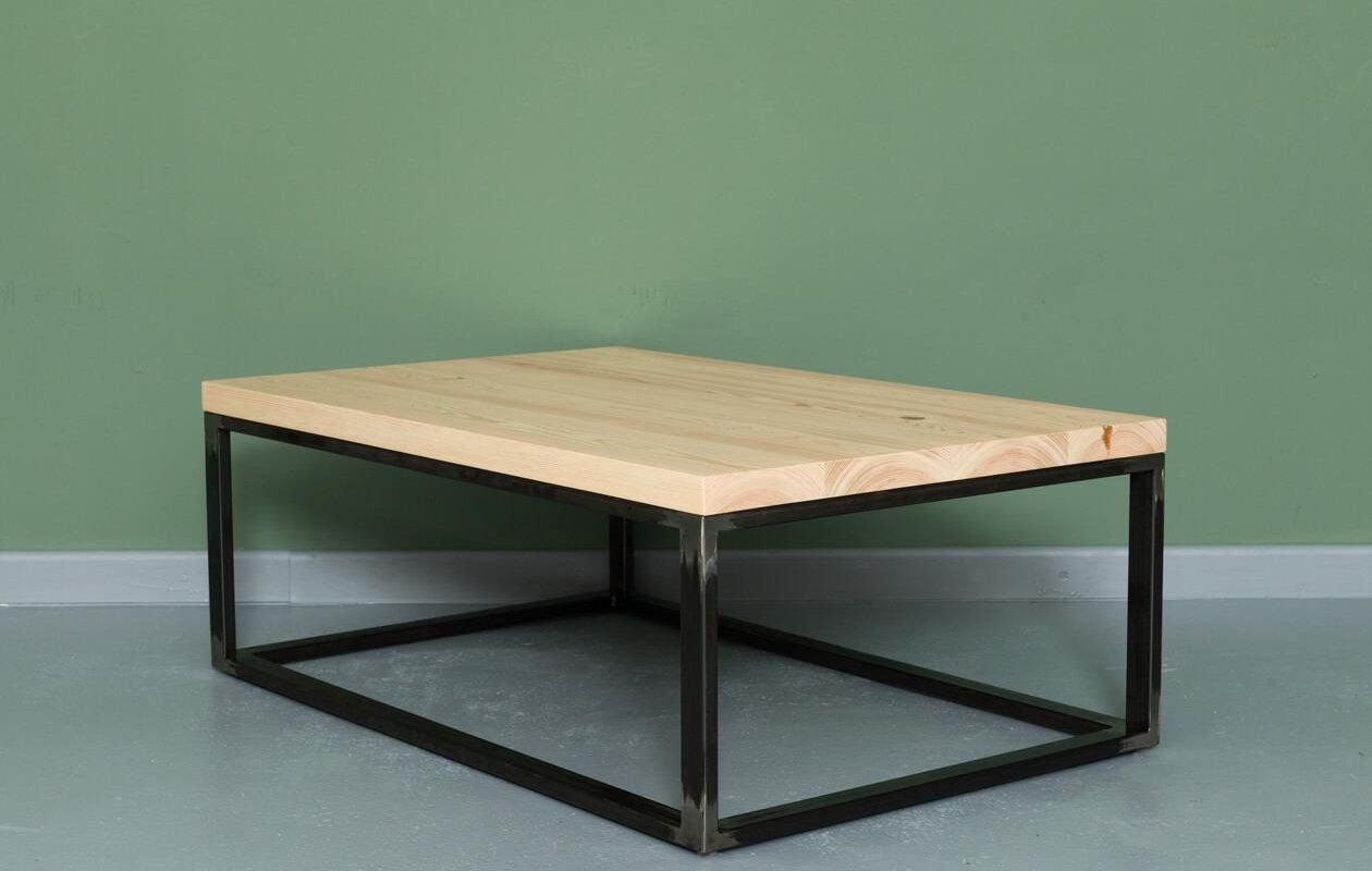 - Industrial & Authentic Upcycling Coffee Table WITTY - JOHANENLIES