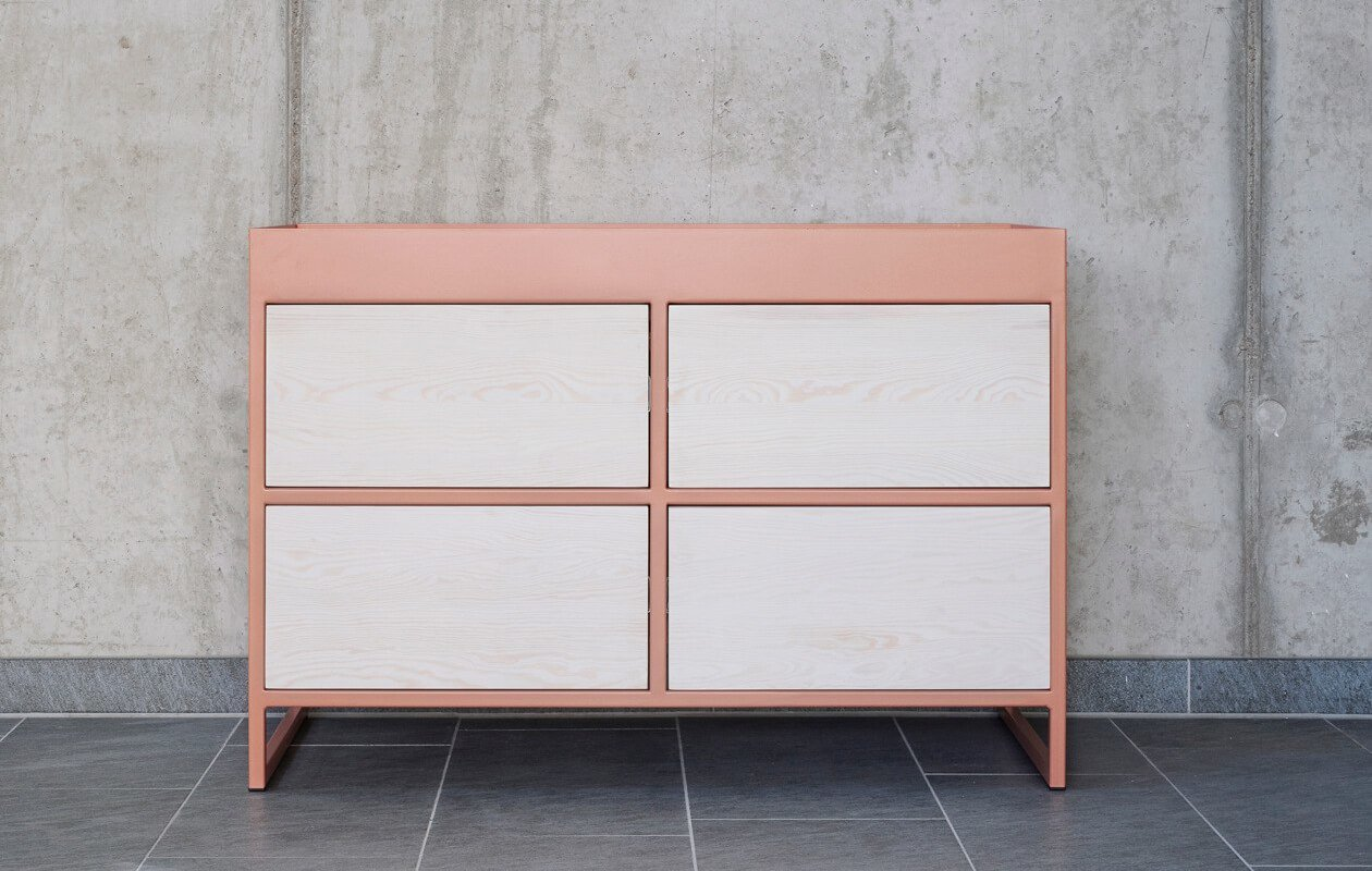 Upcycling Sideboard Ray Beigered Johanenlies